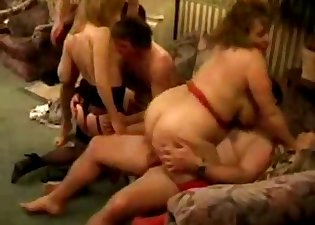 Two sexy matures are getting penetrated