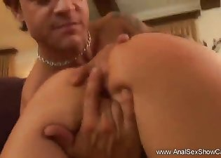 Sensual hottie is trying hardcore anal sex