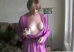 POV doggy style sex with a horny MILF