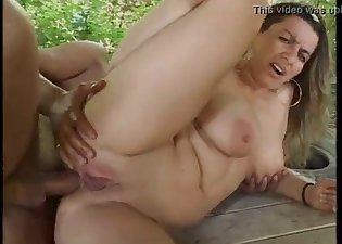 Intensive anal with a big-breasted lady