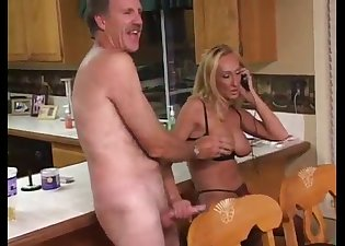 She needs his fresh load of cum