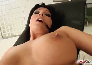 Inked fucker penetrates a bitchy brunette